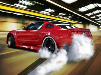 Ford Mustang GT 2010 by blackdoggdesign