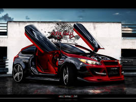 Ford Focus WTB Round 1 by blackdoggdesign