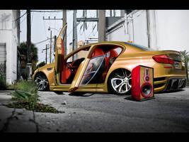 BMW M5 F10 by blackdoggdesign