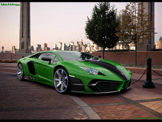 Lamborghini Aventador LP-700 by blackdoggdesign