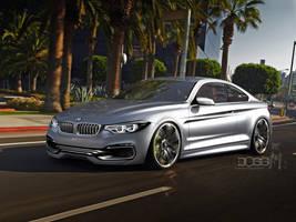 BMW M4 by blackdoggdesign