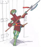 serpent folk sketch by Pachycrocuta