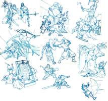 April sketchdump by Pachycrocuta