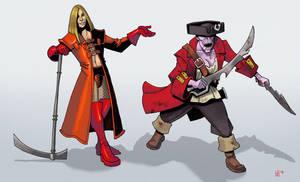evil human clerics by Pachycrocuta
