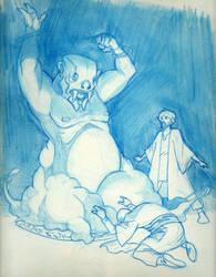 Designer blue djinn by Pachycrocuta