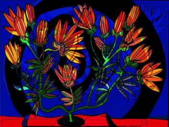 Flowers for Shula by yudi-marton