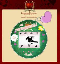 Aoh tamagotchi Thuril by DarkDragonTanis