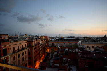 Rome in the evening by OneeTruth