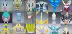Shiny Pokemon For Trade - Legendary (OPEN) by Kinanmi