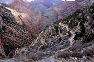Bright Angel Trail by kamuidestiny