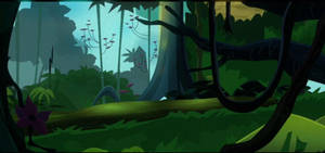 MLP-Jungle Background by MusicFireWind