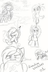 Random Sketches 01 by MusicFireWind