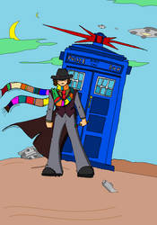 The 4th Doctor by Dynamoe