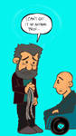 Old Man Wolverine Can't Get It Up by oVunderkind