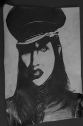 MARILYN MANSON. by Denizos