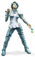 Gamer Girl by the0phrastus