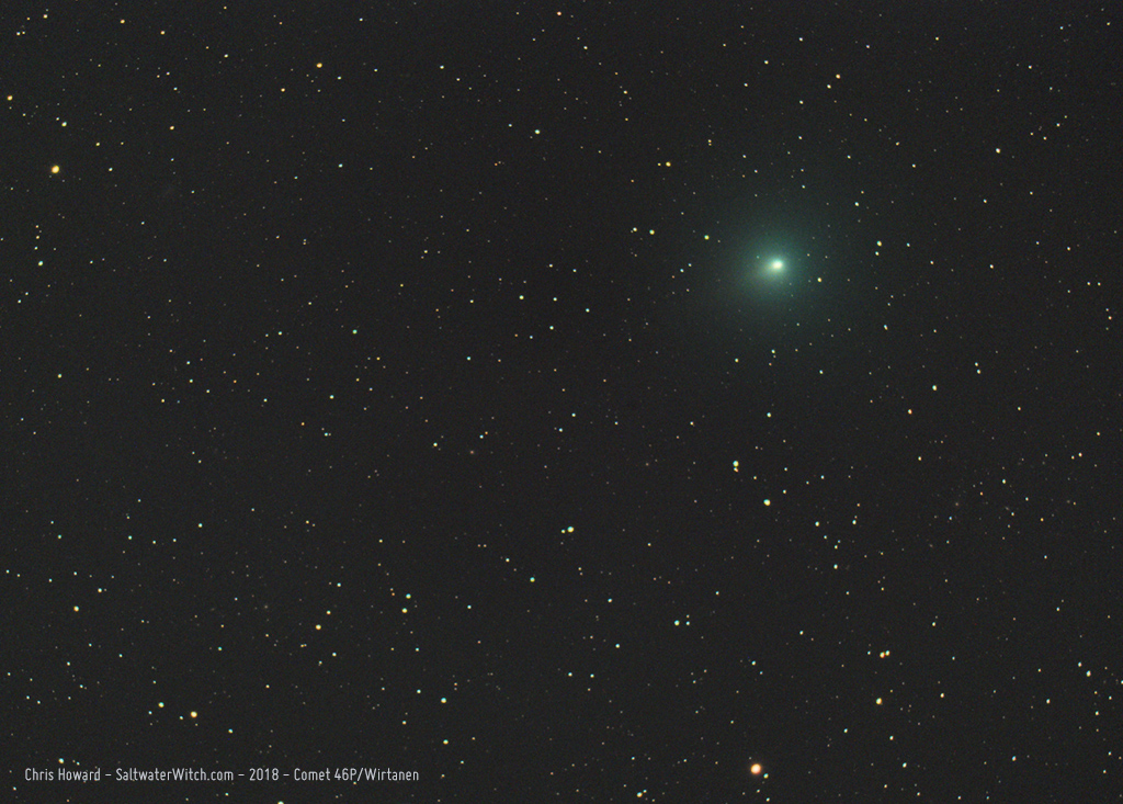 Comet 46P-Wirtanen - 2018 by the0phrastus