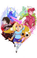 adventure time by chupachup