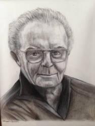 Portrait of My Great Grandpa Masia by brownalliecat