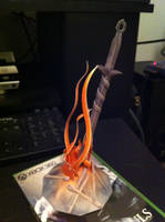Dark Souls Bonfire Papercraft by Orion1189