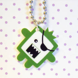 Timmy the pirate necklace by coonies