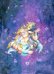 Universe gijinka by Aikorn