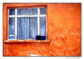 Orange house by Masisus