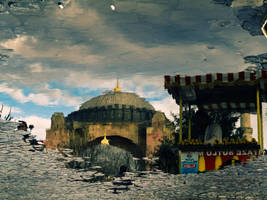 Reflection of hagia sophia II by Masisus