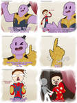 Avengers: Infinity War - A Magic Show by DragonChaser195