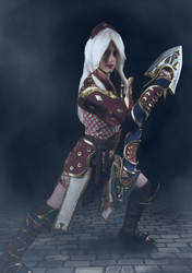 Diablo 3 Monk Cosplay by SilverIceDragon1