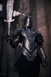 Dark Souls Black Knight Cosplay by SilverIceDragon1