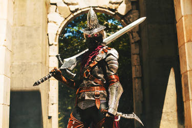 Dark Souls 3 Abyss Watcher Cosplay by SilverIceDragon1
