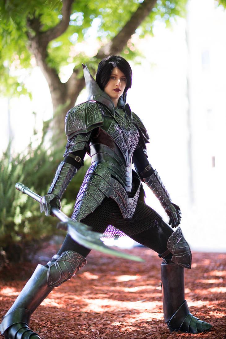 Dark Souls Black Knight Armor - Fanime 2018 - 2 by SilverIceDragon1
