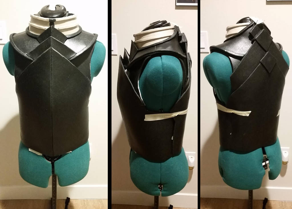 Guild Wars 2 Royal Guard - Breastplate WIP by SilverIceDragon1