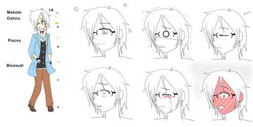 Makoto Reference by WhiteWolfPrincess