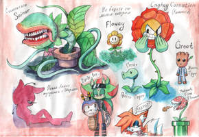Ragevine's friends by Ragevine