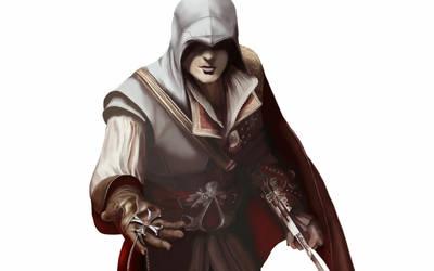 Ezio Auditore - Assassin's Creed by strider888