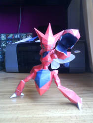 Scizor Papercraft by ARX-DM