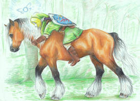 Carry Me Home Epona by Scoutrageous