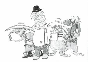 Investigating gunslingers by ReScripta