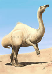 I'm not a weredromedary. I'm just a deinocheirus. by puntotu