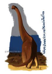 Brachiosaurus copia by puntotu