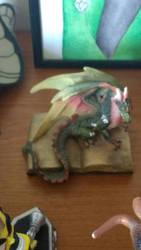 Little Book Dragon by PhoenixFirewing