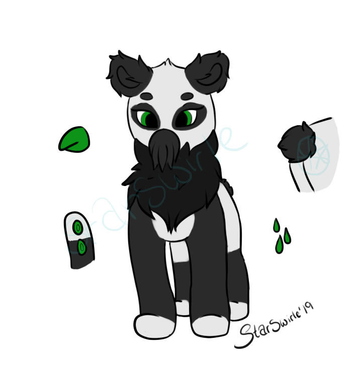 Panda Squib open!~ by StarSwirle