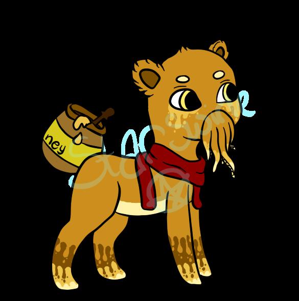Honeybear adopt! by StarSwirle