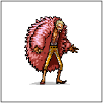 Donquixote Doflamingo / One Piece / 50% progress by Frozeblaze
