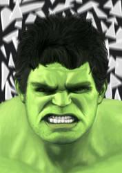 Hulk by DANtastic-art