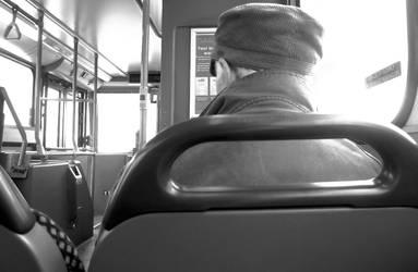 Old Man and His Bus by KamkoTheFireKat
