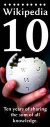 Wiki Banner 10 Years by swapnilnarendra
