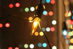 Christmas Lights I by spanjebob89